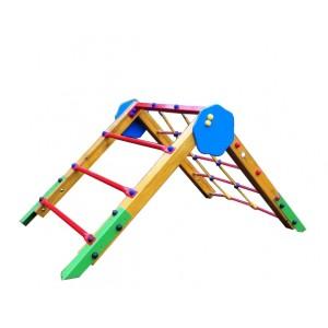 Közterületi játszótér - Háromszög mászóka