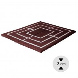 Gumilap malom játék ReFlex - 3x100x100 cm vörös