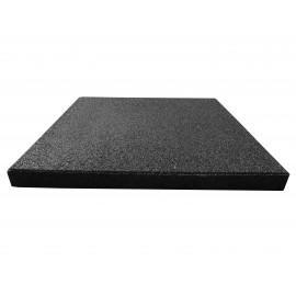 Reflex esésvédő gumilap, 4x50x50 cm, fekete