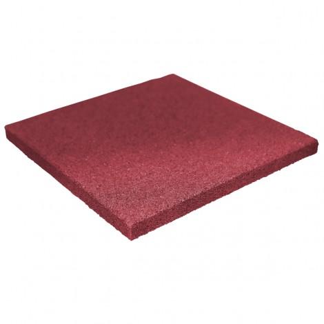 Reflex gumi járólap, 3x40x40, vörös