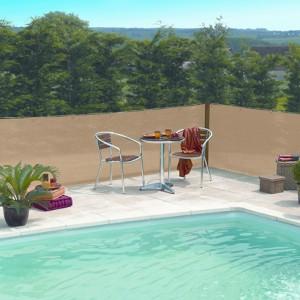 Árnyékolóháló Extranet 2x10m homok szín 80%