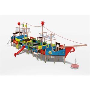 Közterületi játszótér - Álomhajó