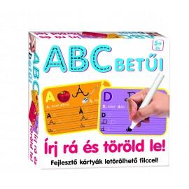 Írj rá és töröld le! - ABC betűi