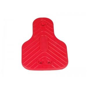 Közterületi - Mérleghinta ülőke gumi, alubetétes piros