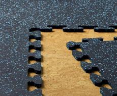 puzzle rubber tile