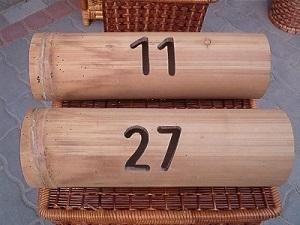 Bambusz postaláda