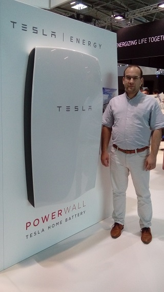 Tesla akkumulátor