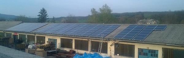 Ulica Solar napelem Bátonyterenye 30 kW