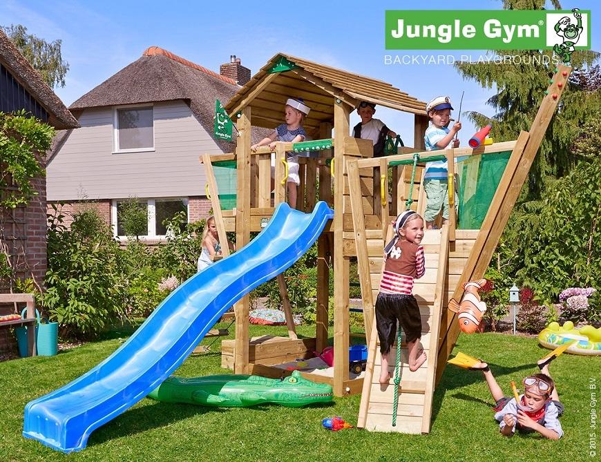 Jungle Gym játszótér Boat modullal