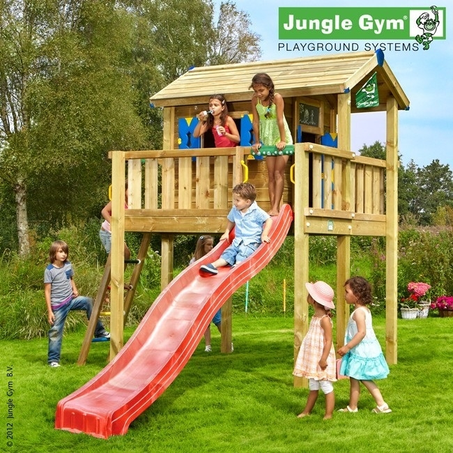 Jungle Gym Playhouse Platform játszótér